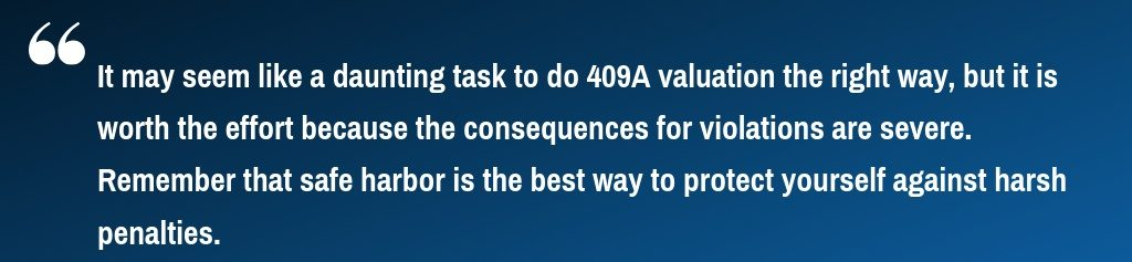 409a valuation process