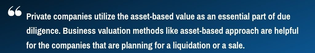 Asset Based Valuation