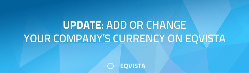 Multi-currency update on Eqvista