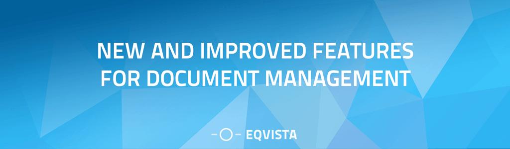 Document management on Eqvista