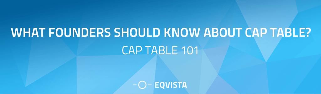 Cap Table 101