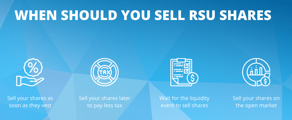 WHEN SHOULD YOU SELL RSU SHARES