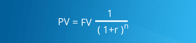 formula for the present value