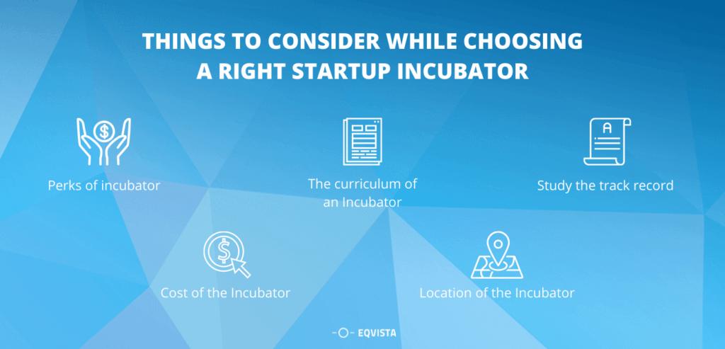 Choosing Startup Incubator