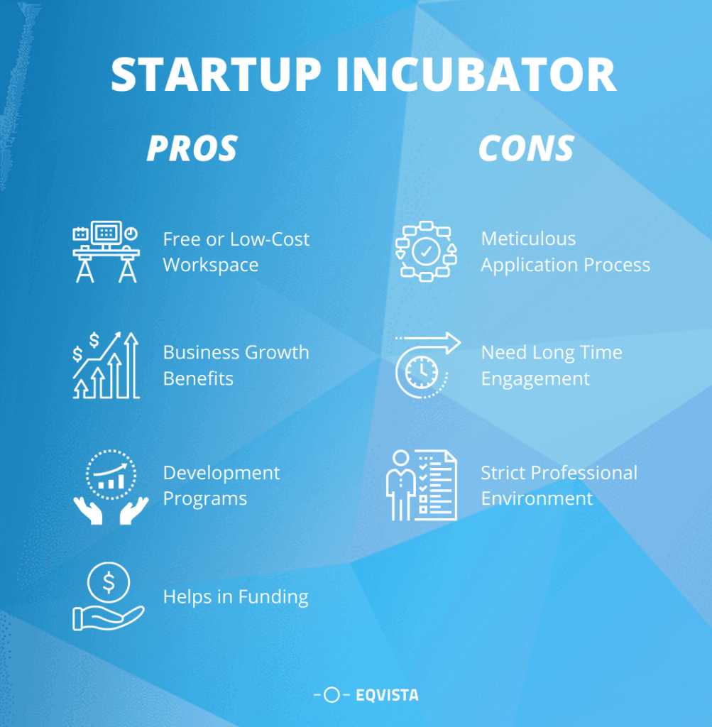 Pros and Cons of Startup Incubator
