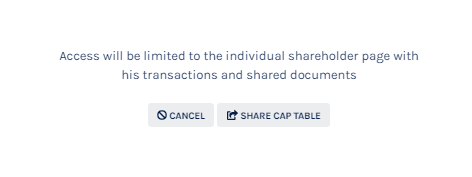 Share Cap Table