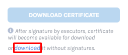 download without signature
