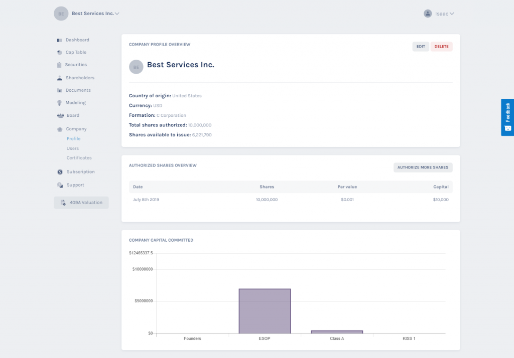company profile overview