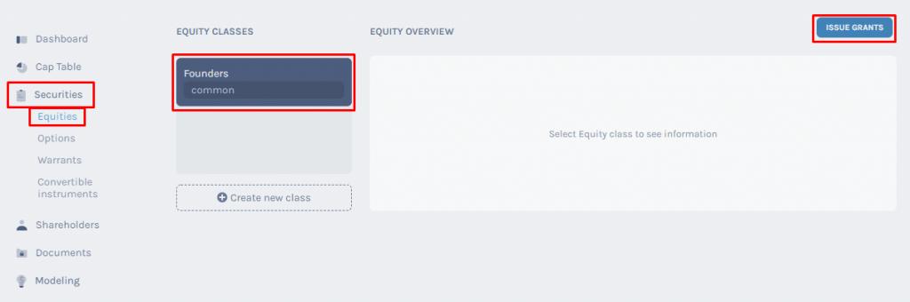 Equity class
