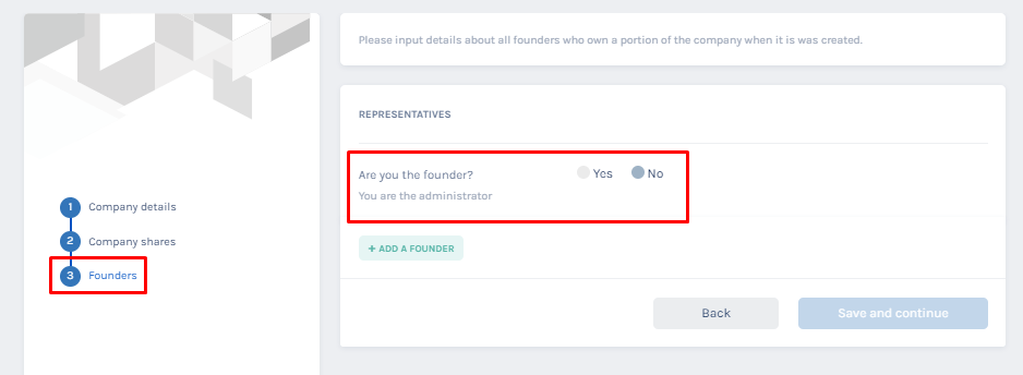 are you the founder