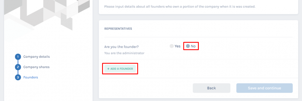 if you are not founder
